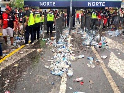 Recolectaron más de 65 toneladas de basura tras Copa Sudamericana