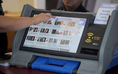 Reiteran que esta semana la DNCP definirá suspensión de alquiler de urnas electrónicas