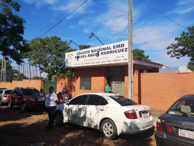 Peritos evalúan daños en escuela de Ñemby tras temporal