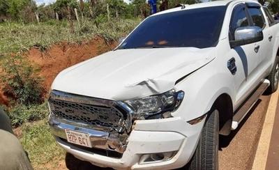HOY / Accidente fatal: comitiva presidencial atropella a comunicador e intenta huir