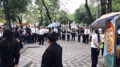 Huelga judicial, con acatamiento del 70%, según Ocholasky