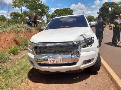 San Pedro: Mario Abdo se comprometió a asistir a familiares de comunicador fallecido en accidente