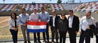 Todo preparado para el Mundial de Fútbol de Playa en Luque