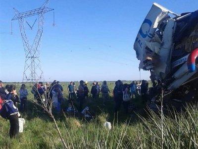 Tragedia de La Santaniana: cinco fallecidos eran paraguayos