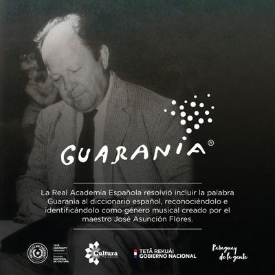 RAE incorpora el vocablo Guarania al diccionario español