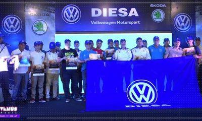 Diesa homenajea a sus corredores del Rally