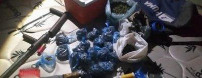 Dos personas detenidas por microtráfico en Carapeguá