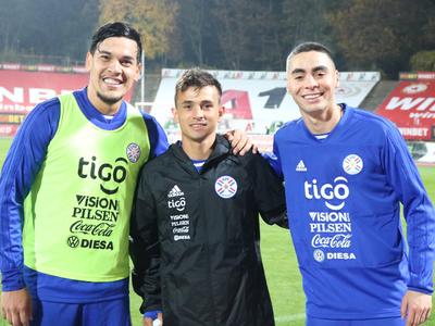 Cubas ya entrena con la selección paraguaya