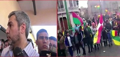 "Abdo sobre Bolivia: ""La violencia en latinoamérica nos preocupa"""