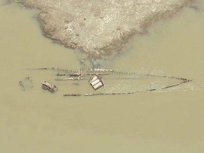Secretaría de Cultura verifica estado del buque Paraguarí