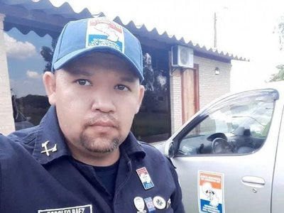 Falleció comandante de bomberos, un combatiente en los incendios del Chaco