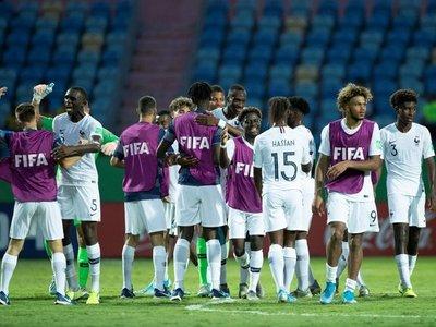 Francia fue lapidario con España y avanzó a semifinales del Mundial Sub 17