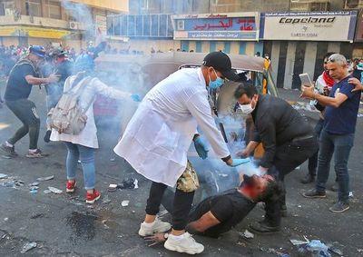 Tres muertos en nuevas manifestaciones en Irak reprimidas con violencia