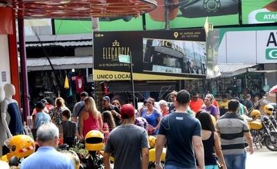 HOY / Ciudad del Este desafía la crisis económica con el Black Friday