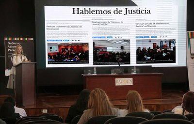 Corte participó de Mesa Conjunta de Gobierno Abierto