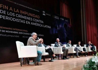 Paraguay en evento mundial de seguridad para periodistas
