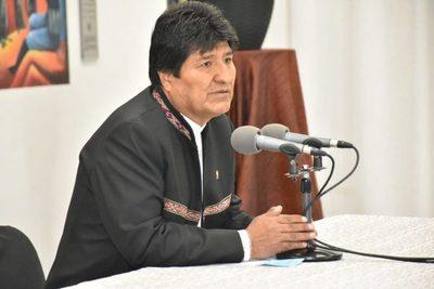 """Es un error afirmar que Evo dejó de ser presidente de Bolivia"""