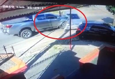 ¿Violento accidente a causa de engaño?