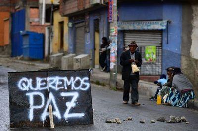 Bolivia busca presidente interino