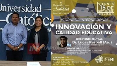 I JORNADA INTERNACIONAL DE INNOVACIÓN Y CALIDAD EDUCATIVA