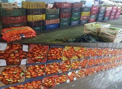 Decomisan más de 9000 kilos de hortalizas en Ciudad del Este