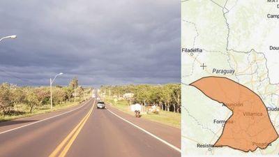 Advierten sobre posible tormenta que afecta a Misiones