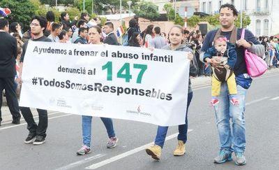 Diariamente 12 niños son víctimas de abuso sexual, según Fiscalía