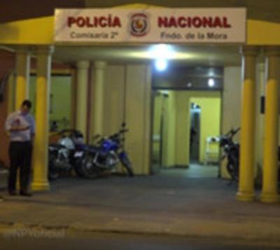 Fueron detenidos infraganti intentando robar una moto