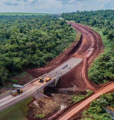 Corredor de Exportación que unirá Alto Paraná-Itapúa registra 30% de avance