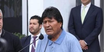 Evo Morales: Se consumó el «golpe más nefasto» con Jeanine Áñez