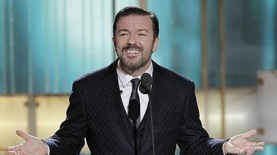 HOY / El comediante Ricky Gervais presentará los Globos de Oro por quinta vez