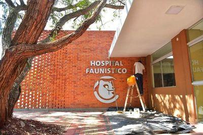 Trabajos del Hospital Faunístico culminarán en este diciembre