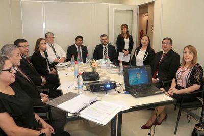 Reunión de trabajo entre la DRA y Planificación y Desarrollo