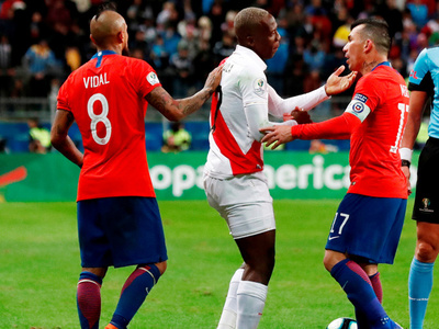 Futbolistas chilenos deciden no jugar el amistoso contra Perú