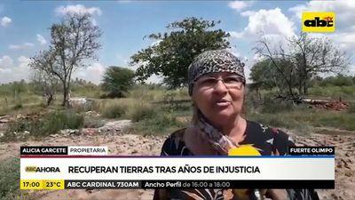 Familia chaqueña recupera sus tierras tras años de injusticia
