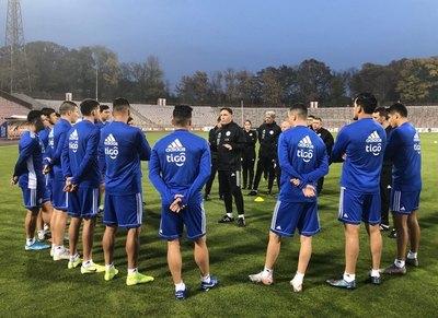 Berizzo recalcó la importancia del juego ante Bulgaria