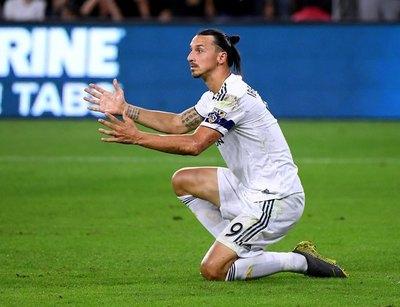 Zlatan Ibrahimović se despidió de los Galaxy con polémica frase