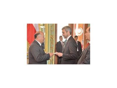 Se acredita nuevo embajador de Chile