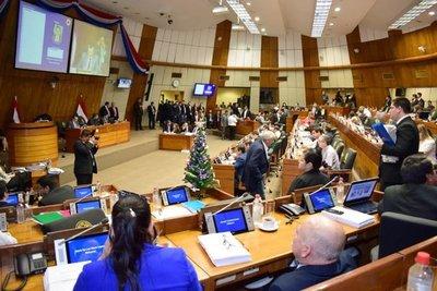 Cuarto intermedio para estudio de presupuesto en Diputados