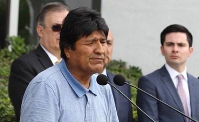 Evo Morales pidió la mediación de la ONU, del Papa y de países de Europa en el conflicto político de Bolivia