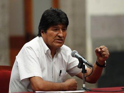 Morales pide a la ONU, al Papa y a países amigos mediar en Bolivia