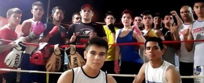 Boxeo de playa en el anfiteatro de Concepción