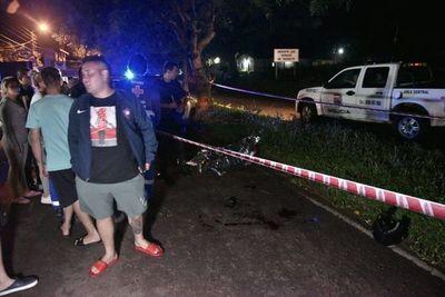 Persecución de motoasaltantes culmina con un fallecido, un herido y dos prófugos