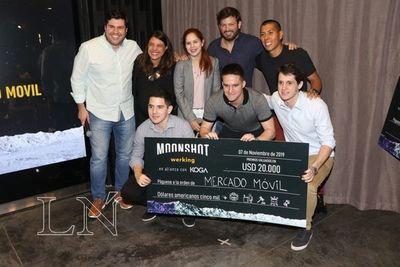 Moonshot Werking premió tres emprendimiento