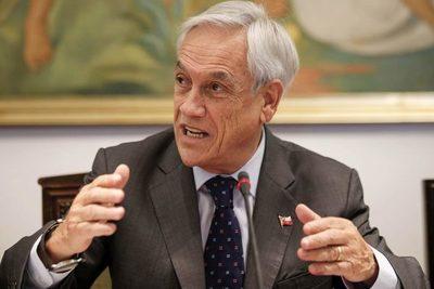 Piñera pide la unión del pueblo chileno