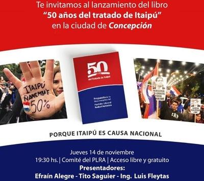 Lanzarán libro sobre Itaipú