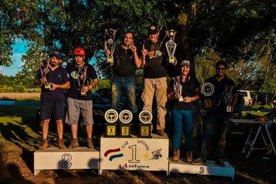 La dupla Huber-Osorio es campeona en Todoterrenos