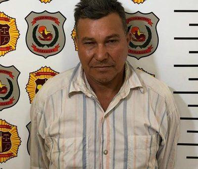 Hombre con frondosos antecedentes es detenido en Pdte. Franco