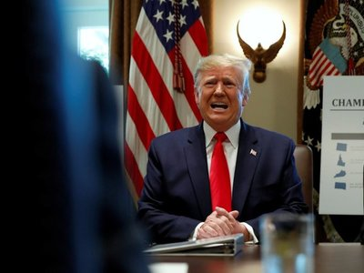 Evo condena reconocimiento de Trump a presidenta interina Áñez