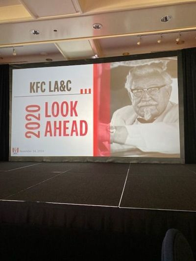 Convención de Kentucky Fried Chicken, en Miami